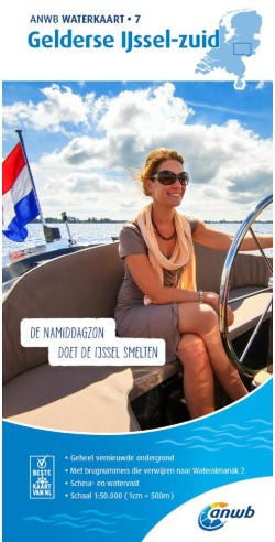 ANWB Waterkrt.7. Gelderse IJssel-Zu