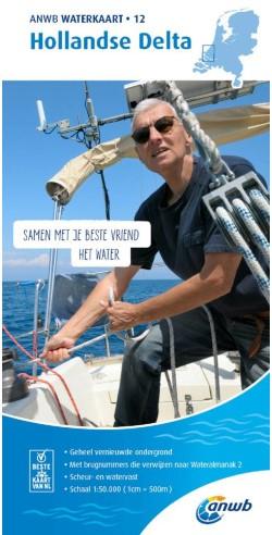 ANWB Waterkaart.12. Hollandse Delta
