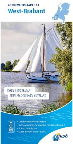 ANWB Waterkaart.13. West-Brabant