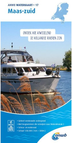 ANWB Waterkaart.17. Maas-Zuid
