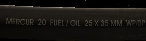 Benzineslang voor buitenboordmotoren diameter 8 mm inwendig