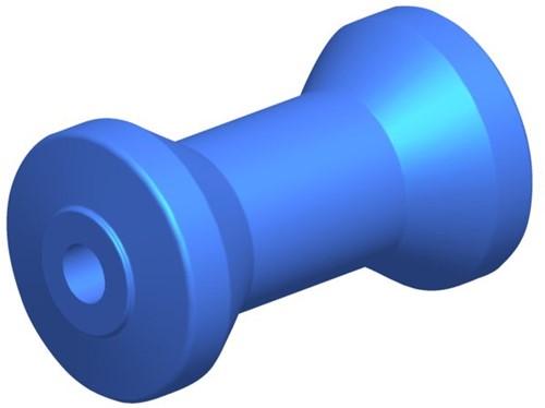 Talamex Kielrol PU L95mm Ø64mm as16mm