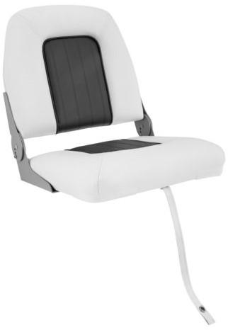 Talamex stuurstoel cruise wit/ grijs