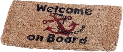 Talamex kokosmat welcome on board 35x70cm