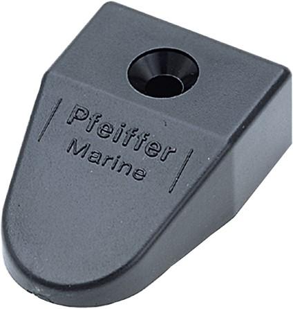 Pfeiffer Eindstuk voor rail 20mm