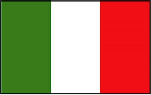 Vlag Italie 20x30