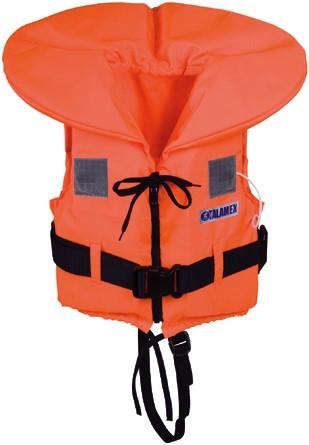Talamex Reddingsvest - oranje - 40/60 kg - kruisband