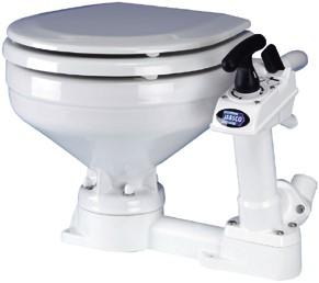Jabsco toilet grote pot