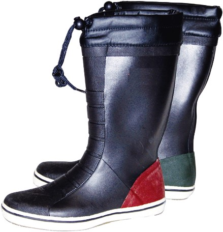 Talamex  Rubber Bootlaars Lang Navy mt 43