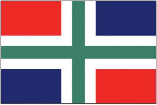 Vlag Groningen 20x30
