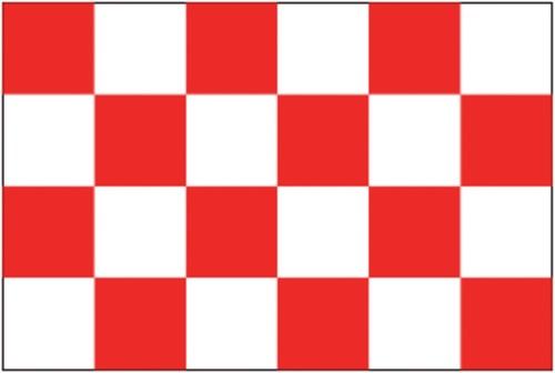 Vlag Noord Brabant 20x30