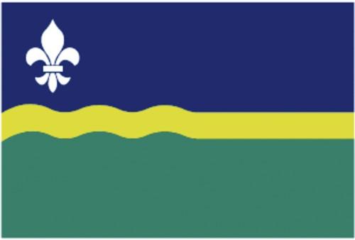 Vlag Flevoland 20x30