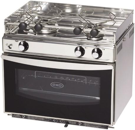 Eno Open Sea oven / 2 vlam RVS