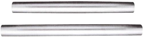 Tafelpoot mat aluminium 70 cm