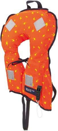 Besto Bebe reddingsvest - oranje - 10/20 kg - kruisband