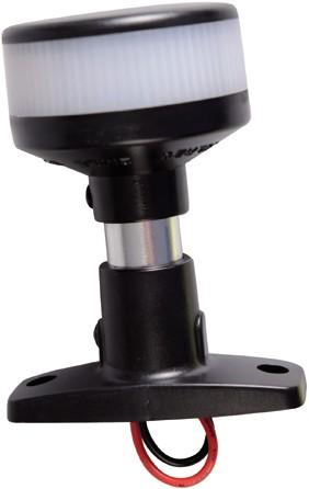 LED 360 NAV.LAMP OP VOET ZWART