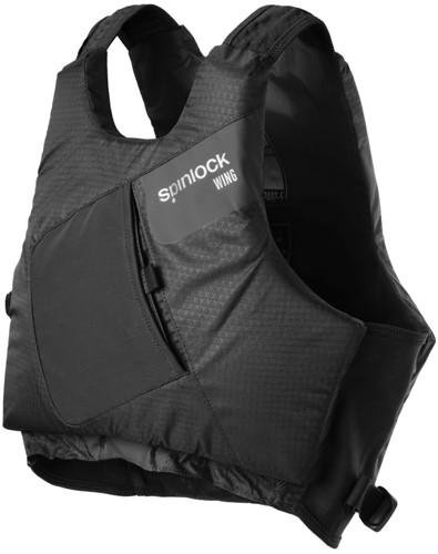 Spinlock Zwemvest Wing - maat 1 (S) - zwart