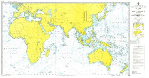 Admiralty Charts - BA kaarten