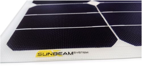 Sunbeam Tough flexibel zonnepaneel 21W Flush