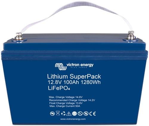 Lithium SuperPack 12,8V/100Ah (M8) High Current