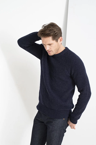 Loop.a life Fryske  Sweater - Brigter Blue - XL