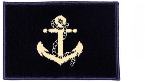 XL Marine bootmat blauw anker