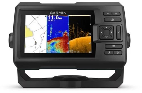 Garmin STRIKER Plus 5cv, Fishfinder - Quickdraw Contours - CHIRP ClearVü