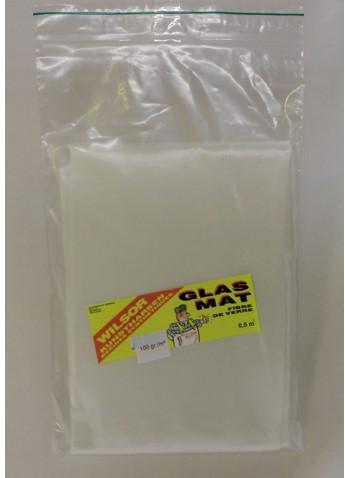 Wilsor Glasmat 5m 100gr