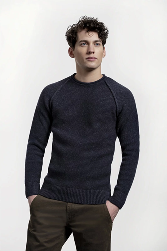 Loop.a life Goodmorning Sweater - Safir (navy)
