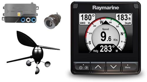 Raymarine i70S Wind, Snelheid, Diepte pakket