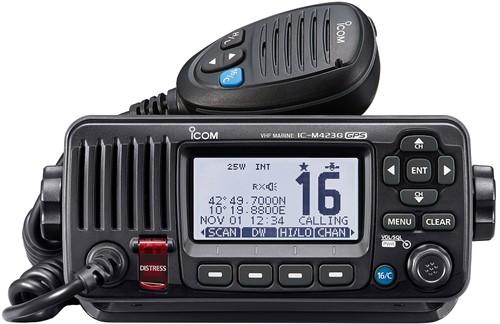 Icom M423GE Marifoon Atis/DSC klasse D+GPS