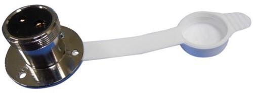 Los Stopcontact 2-polig klein