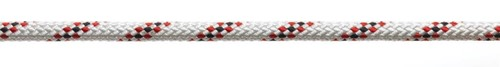 Marlowbraid 10mm wit/rood
