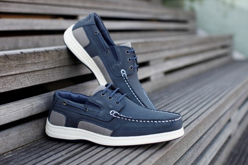 BluePort Atlantic 3 bootschoen eye navy