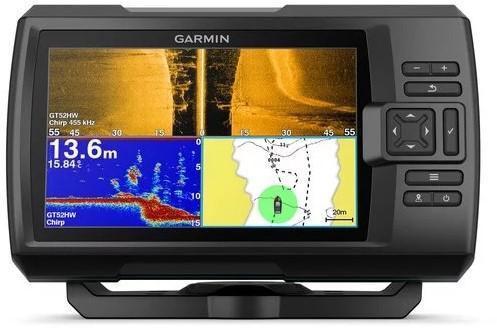 Garmin STRIKER Plus 7sv, Fishfinder/ GPS met GT52HW-TM transducer - ClearVü™ - SideVü™
