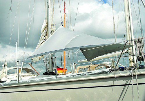 Blue Performance deck sunshade S