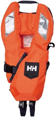 Helly Hansen JR SAFE+ 210 - oranje -  20/35 kg - kruisband