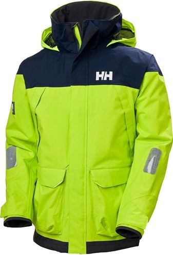 Helly Hansen Coastal zeilpak Pier-Azid Lime /  set: Jack - broek - fleece - tas
