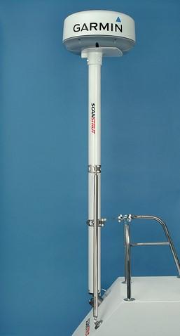 Radarmast Raymarine & Garmin 2
