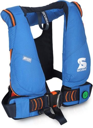 Secumar Junior Duo Protect Reddingsvest  - 150N - 20/50 kg - blauw
