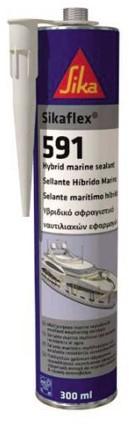 Sikaflex koker 591 300ml. zwar