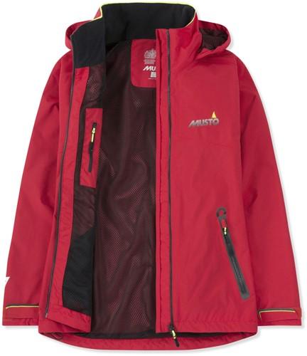 Musto 80905 BR1 Inshore dames jas - TrueRed