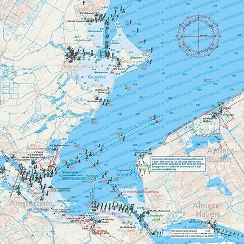 Kaartkussen IJmeer